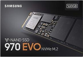SSD 500GB SAMSUNG 970 EVO M.2 PCIe NVMe - Modelo MZ-V7E500BW