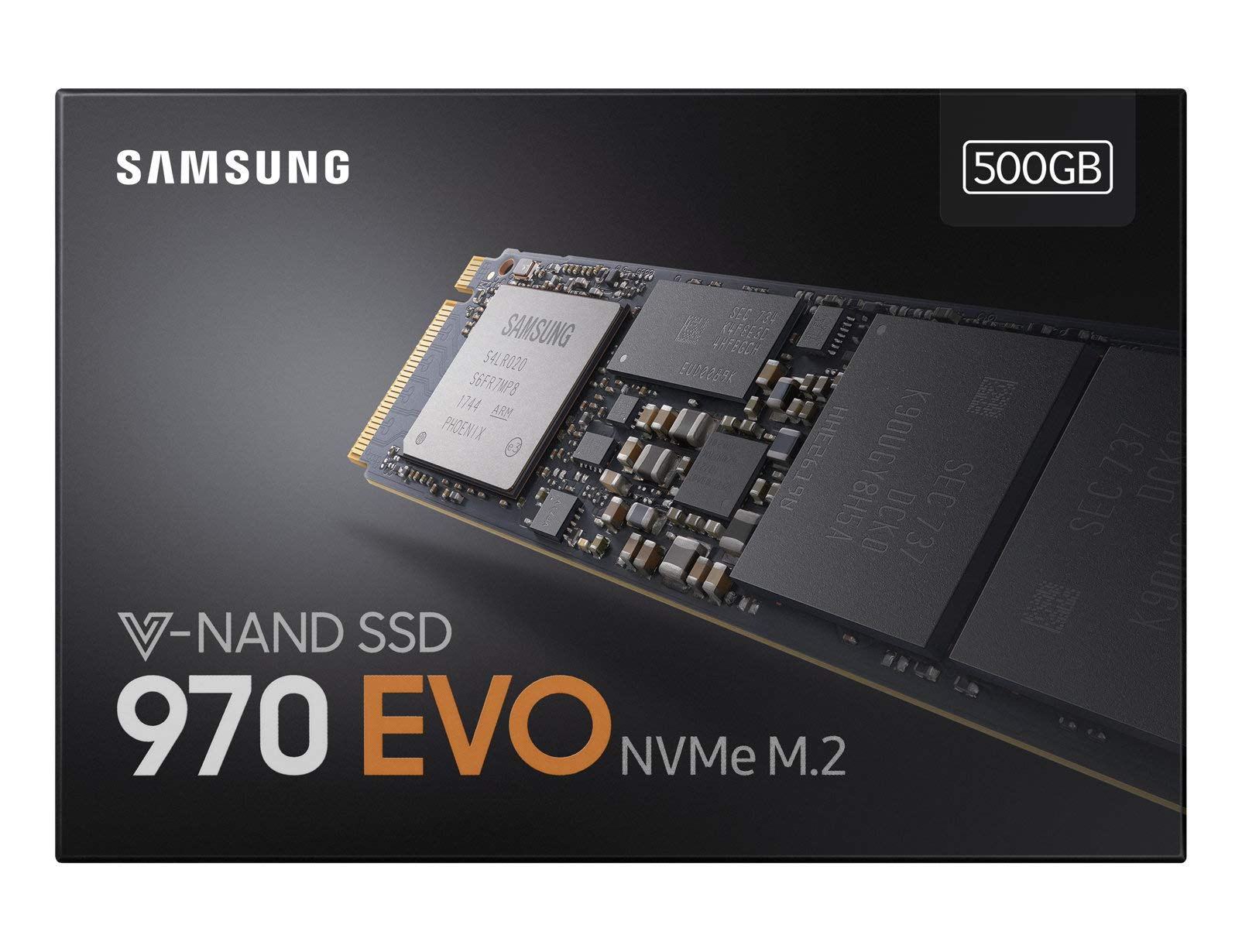Samsung 500GB 970 EVO NVMe M2 Solid State Drive