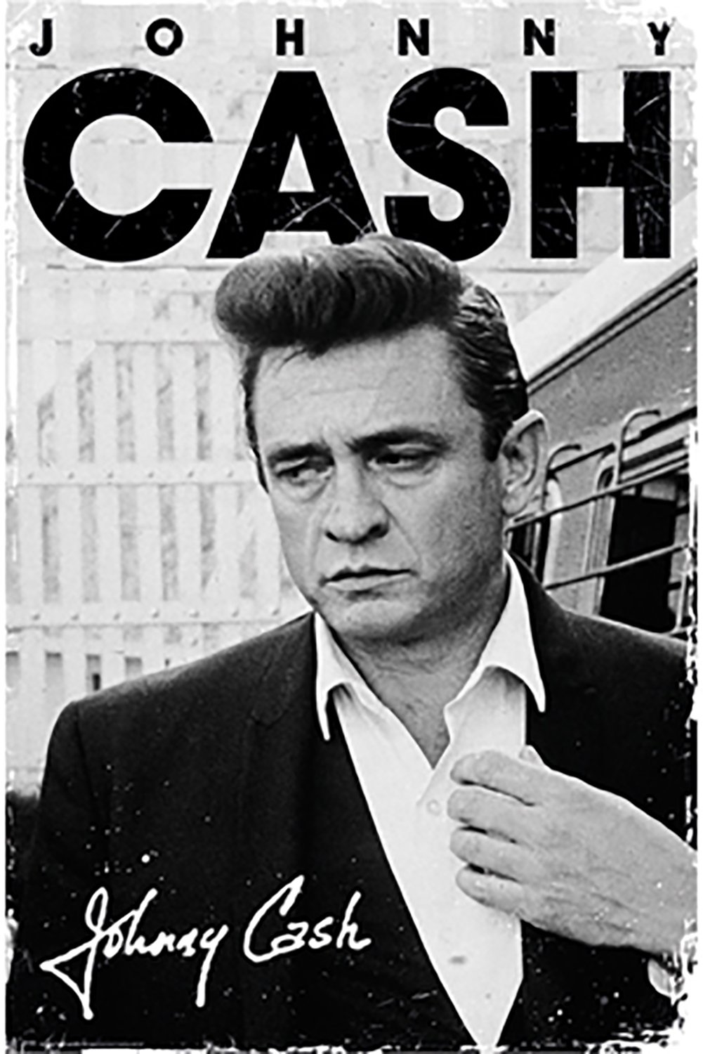 Amazon Poster Service Johnny Cash Signature 24 Inch By 36 Posters Prints
