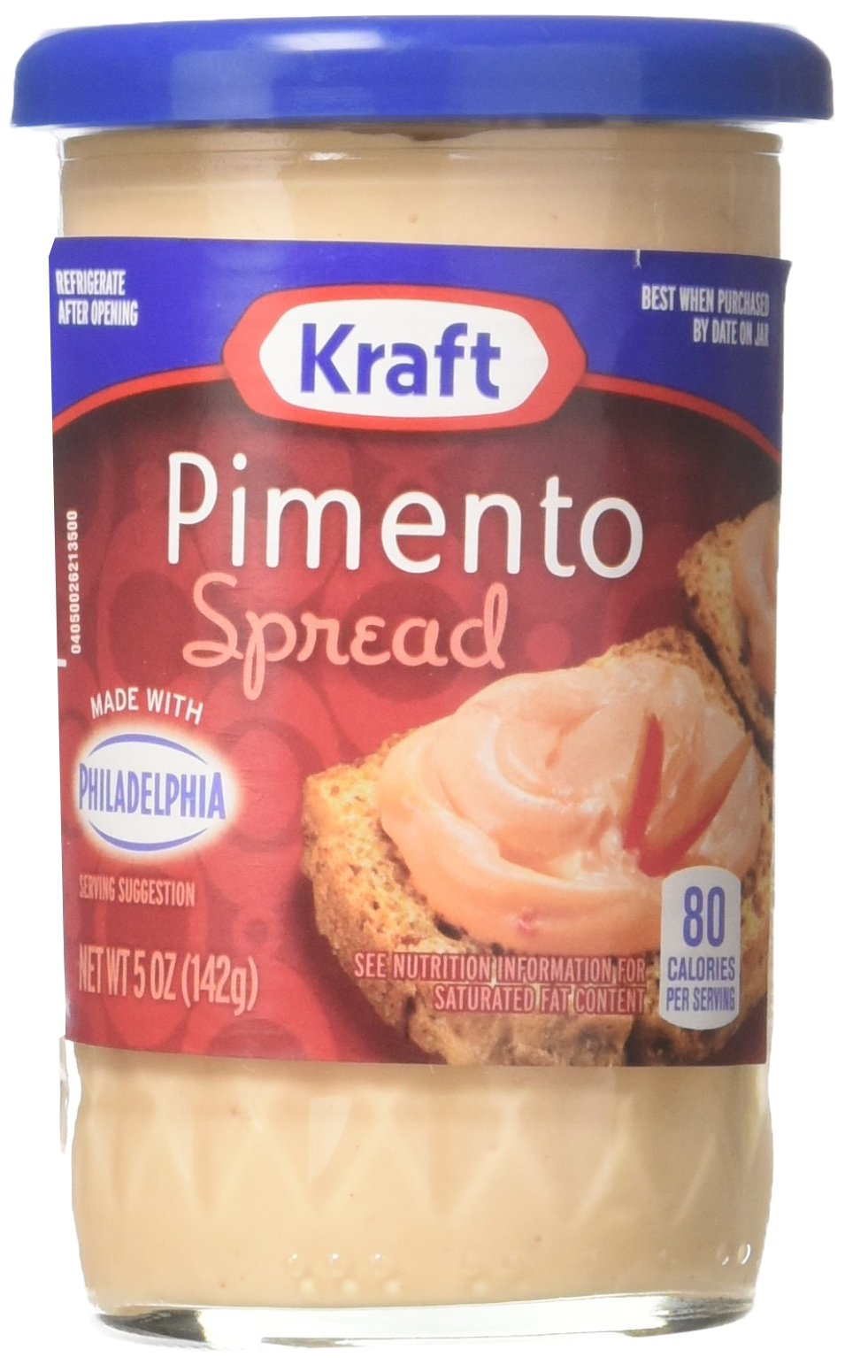 Kraft Pimento Cheese Spread 5 Oz (Pack of 12)