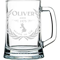 Jarra de cerveza personalizada, jarra de cerveza pintada