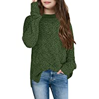 Amazon Best Sellers: Best Girls' Pullover Sweaters