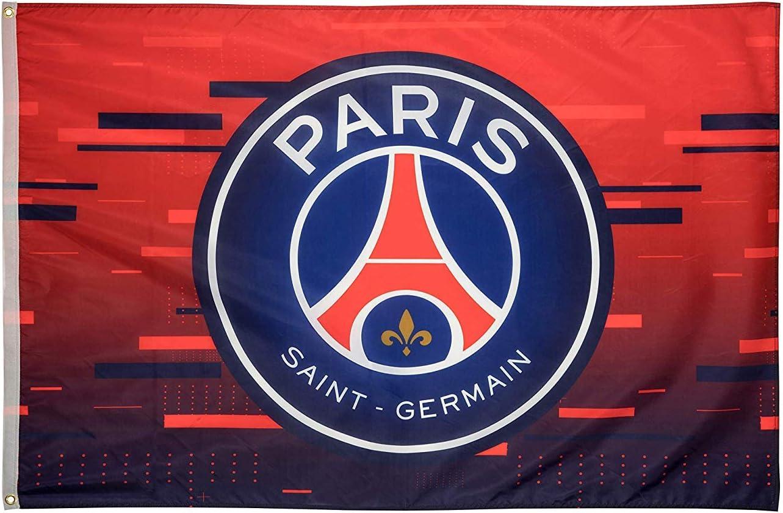 Psg Paris Saint Flag Logo Germain Official Licensed Product Blue Amazon De Kuche Haushalt