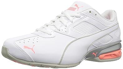 Puma Damen Tazon 6 Fm Sneakers 37.5 White/Gray Violet/Nrgy Peach