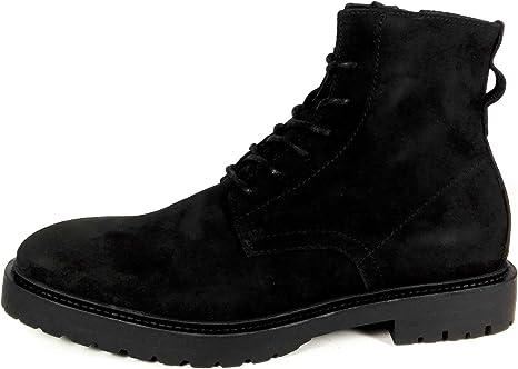 Zara Men Black soft leather boots 5605