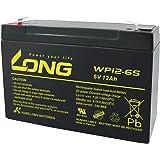 ロング (KUNG LONG BATTERIES) 産業用鉛蓄電池 ( 6V-12Ah ) NP10-6/互換 ( 標準系 ) WP12-6S