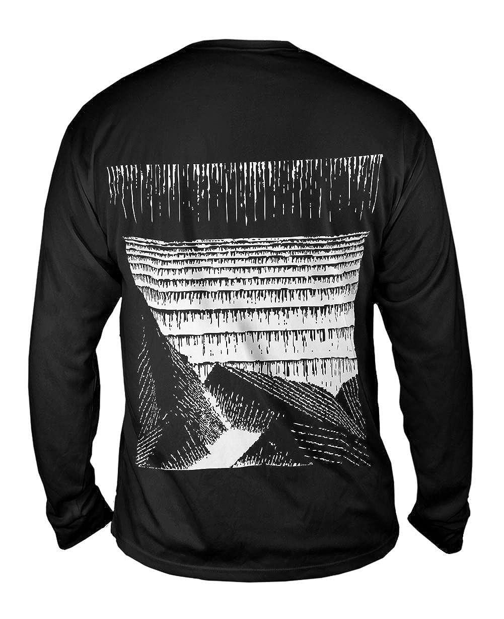 Yizzam Blocks of Basalt Along Mens Long Sleeve 2013 M.C.Escher