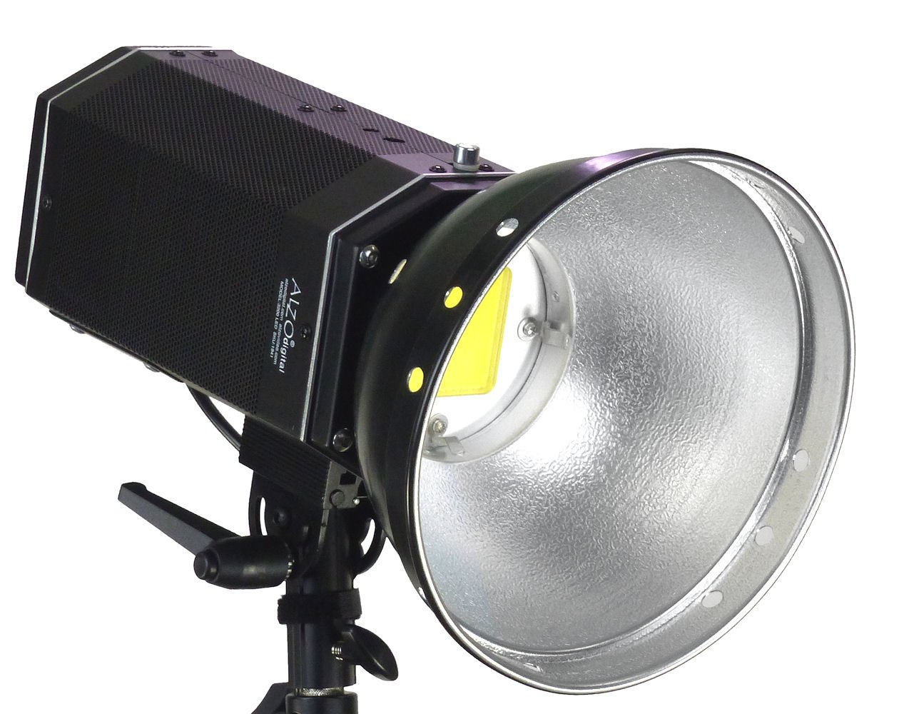 ALZO 3000 High Intensity LED Video and Photo Light with 8 Inch Par Reflector by ALZO Digital