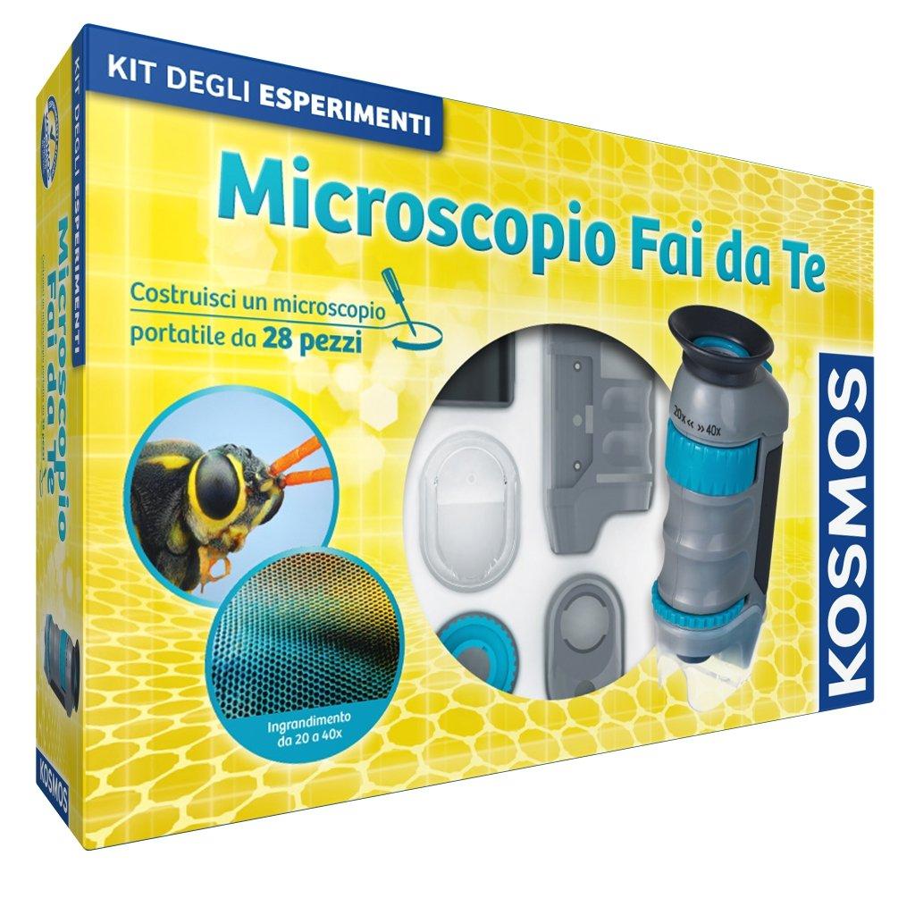 microscopio de bricolaje