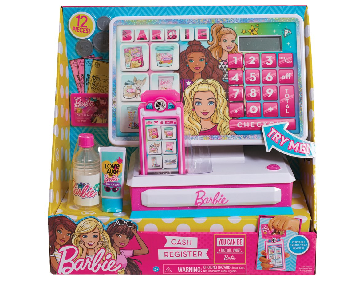 Barbie Just Play Large Cash Register Roleplay by Barbie