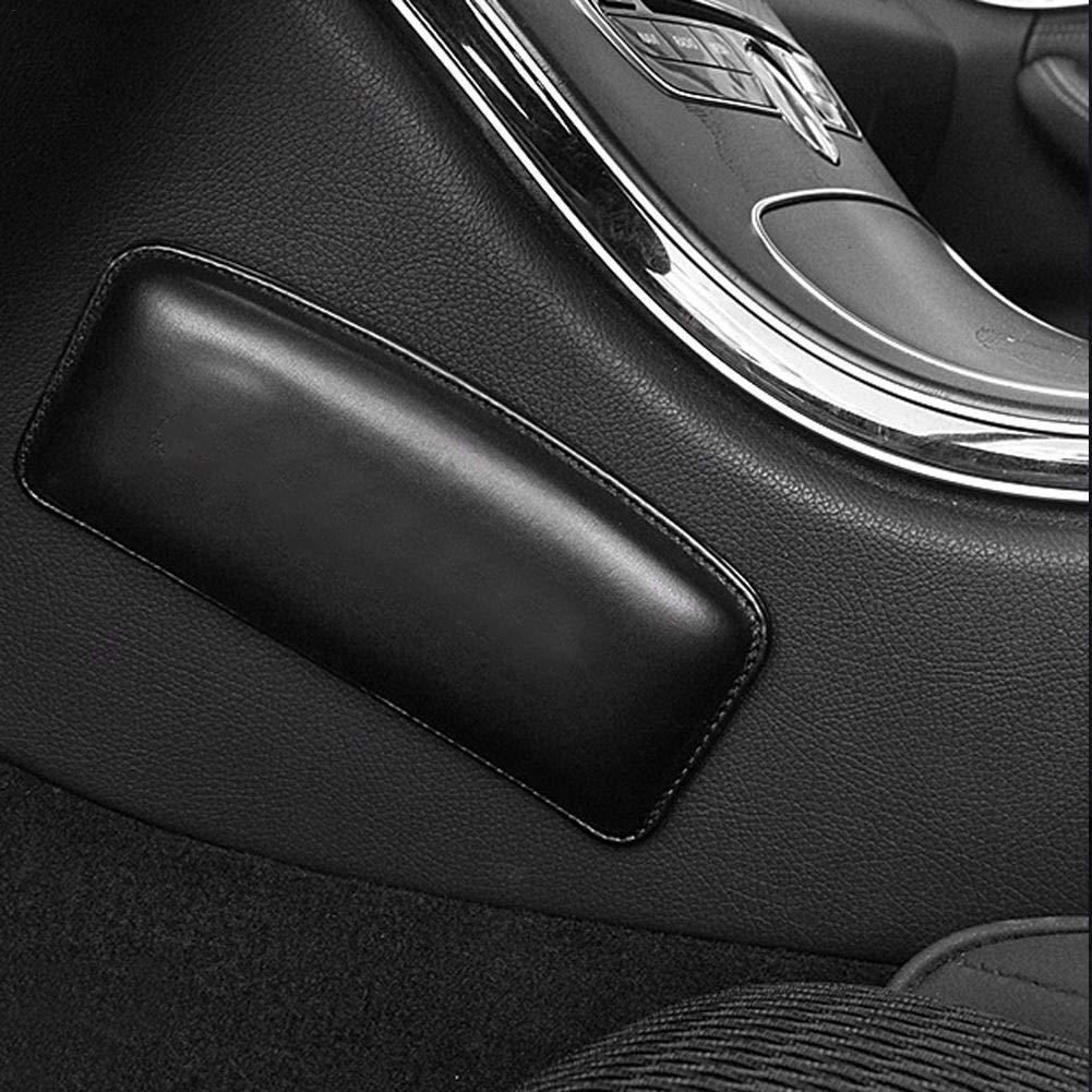 xiangpian183 Autokonsole Knieunterst/ützung Soft Pad Auto Universal Driver Seite Kniepolster High Density Memory Foam Verschlei/ßfeste Weichleder Auto T/ürsteuerung Kniekissen Konsole Kniekissen