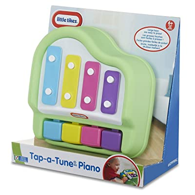 Little Tikes Tap-A-Tune Piano Baby Toy: Toys & Games