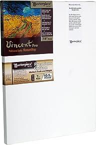 "Masterpiece Artist Canvas 41065 Vincent PRO 7/8"" Deep, 30"" x 48"", Cotton 10.5oz - 3X - Monterey Most Popular"