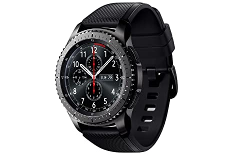 a4566a942a783 Image Unavailable. Image not available for. Colour  SAMSUNG Gear S3  Frontier Smartwatch