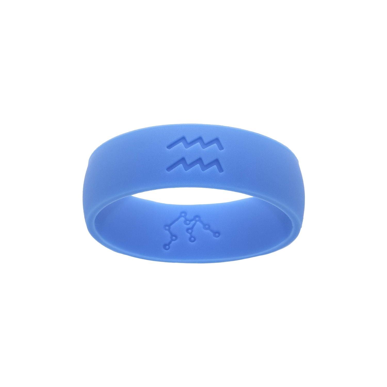 Leos Creations Aquarius Zodiac Ring