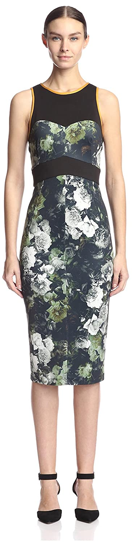 A.B.S. by Allen Schwartz Women's Floral Sheath Dress