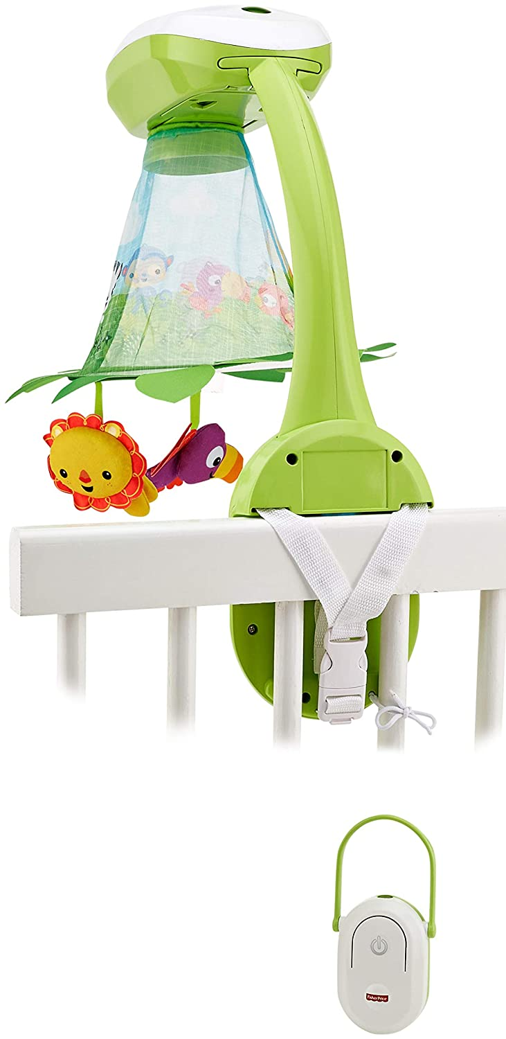 Fisher Price Rainforest Grow-with-me Projection Mobile