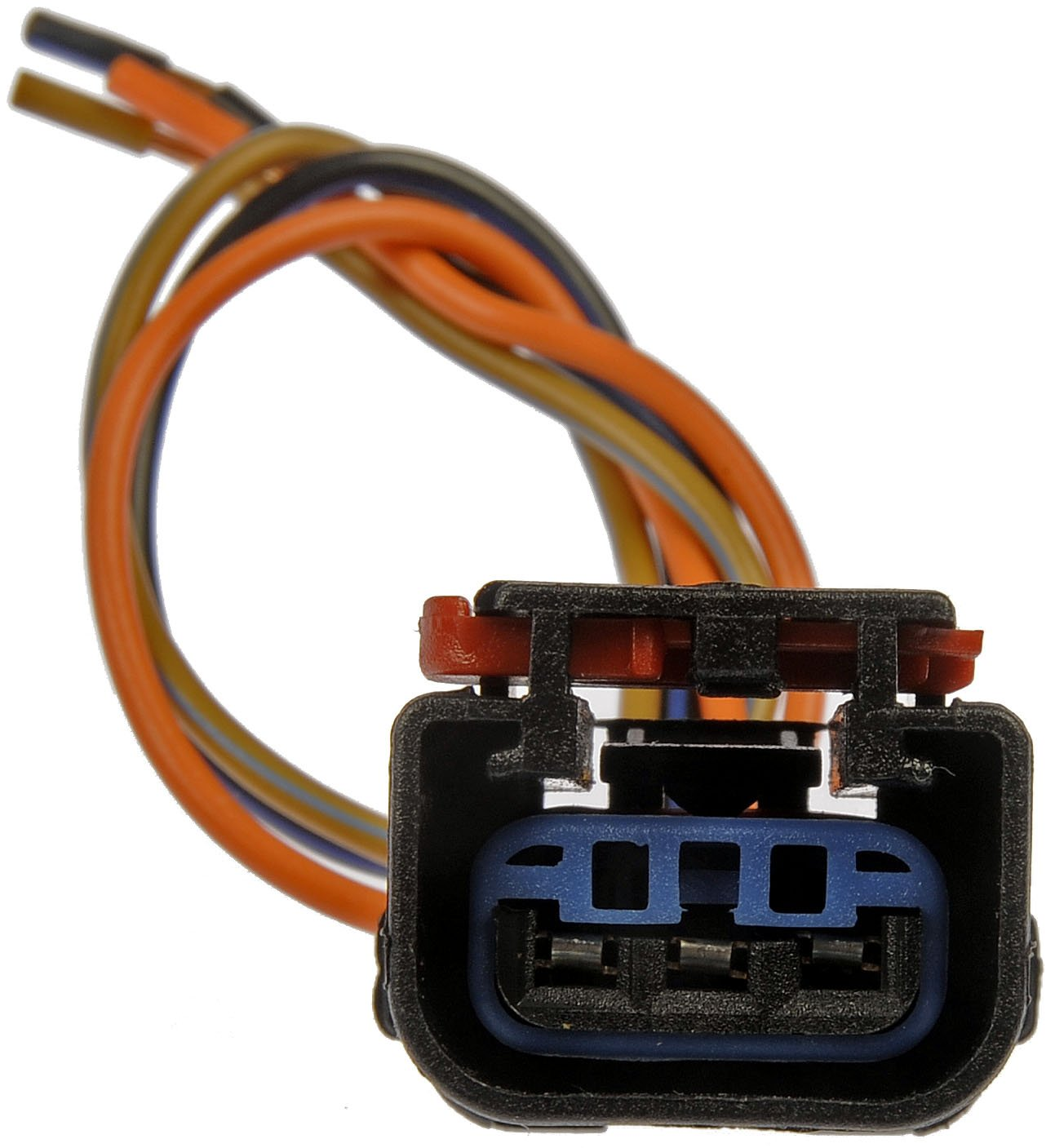 71Yk0ug33cL._SL1407_ amazon com dorman 645 187 3 wire electrical socket harness 4 wire harness connector at bayanpartner.co