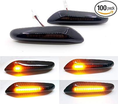 Smoke LED Side Marker Indicator Light For BMW E82 E88 E60 E61 E90 E91 E92 E93