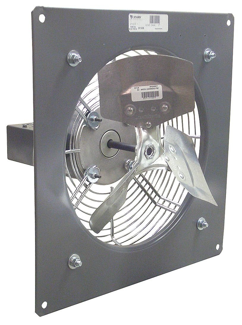 Exhaust Fan, Standard Duty, 16 in, 2580 cfm: Tools Products