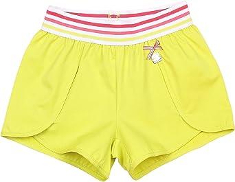 Deux par Deux Girls Yellow Shorts Flamingo Edit Sizes 5-12