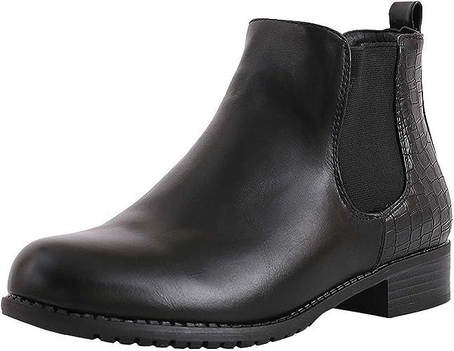 Flat Heel Ankle Boots Women