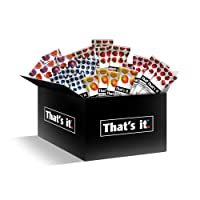 That's it Fruit Bars Snack Gift Box { 20 Pack }100% All Natural, Gluten-Free, Vegan...