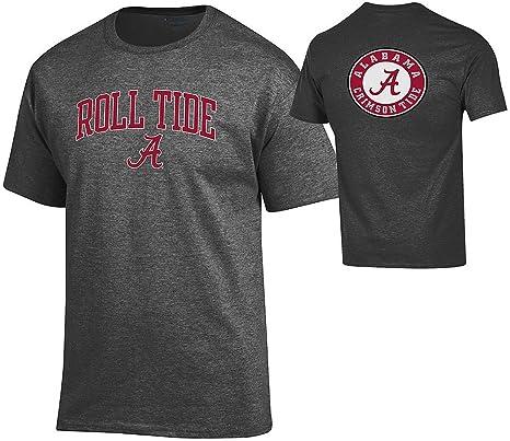 9f1cce41 Elite Fan Shop Alabama Crimson Tide Tshirt Charcoal Back Roll Tide - M