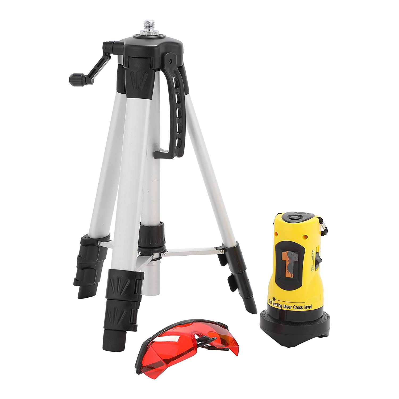 Loritar(ロリター)レーザー墨出し器 レーザーレベル クロスラインレーザー 2ポイント 水平垂直ライン 三脚&収納ケース&ゴーグル付き B0793NPBDP