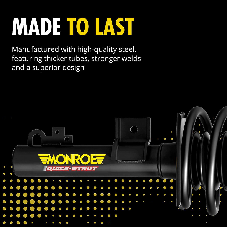 Monroe Shocks /& Struts Quick-Strut 172101 Suspension Strut and Coil Spring Assembly