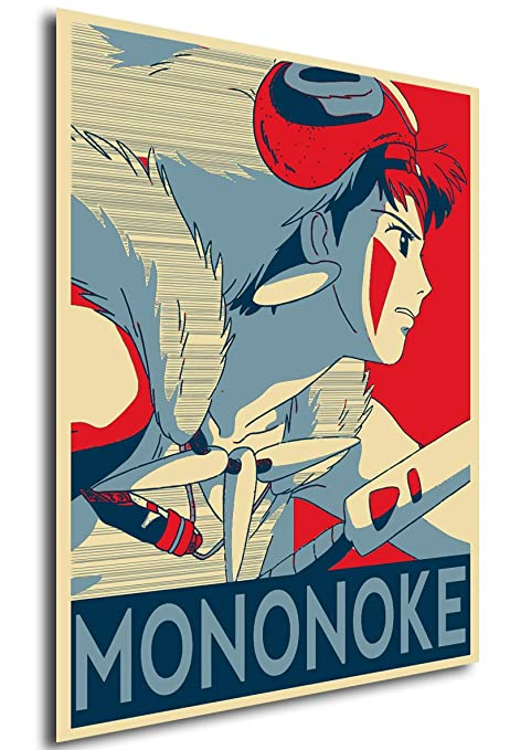 Instabuy Posters Propaganda - Studio Ghibli - Princess ...