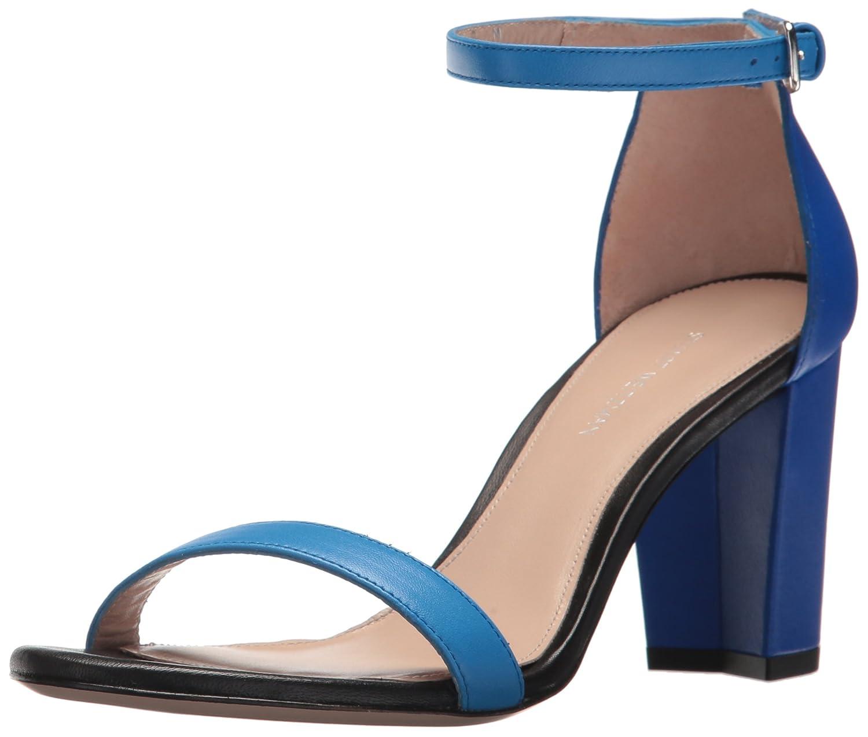 Stuart Weitzman Women's Nearlynude Heeled Sandal B073ZG82TP 7 B(M) US|Miramar Combo
