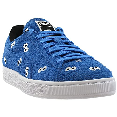 ce99e56b PUMA x Sesame Street Suede Mens (Cookie Monster) in French Blue, 7.5 ...