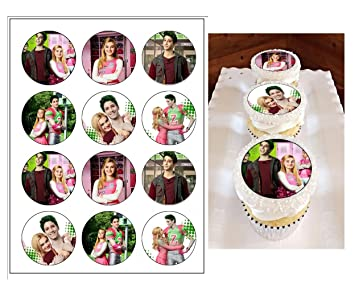 Edible Disney Zombies Cupcake Toppers Birthday Decorations 12