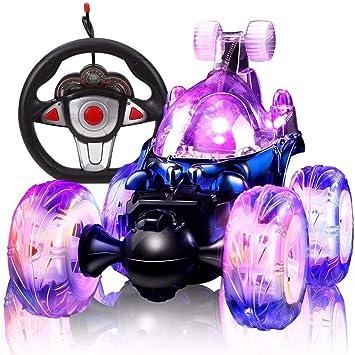 Ycco Control remoto RC Super Stunt Buggy con luces Mini RC ...