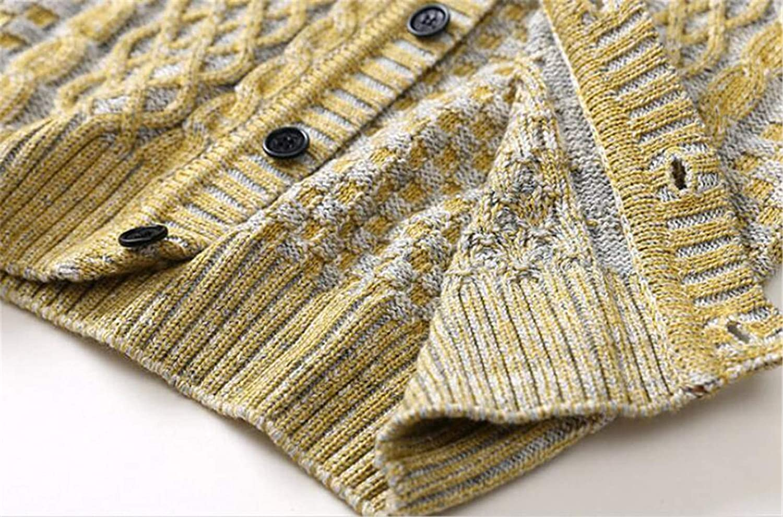 Pandapang Boys Cute Fit Girl Sweater Cable Coat Knit Cardigans