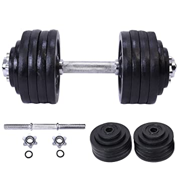 52,5 kg peso juego de mancuernas ajustable Cap hierro gimnasio ...