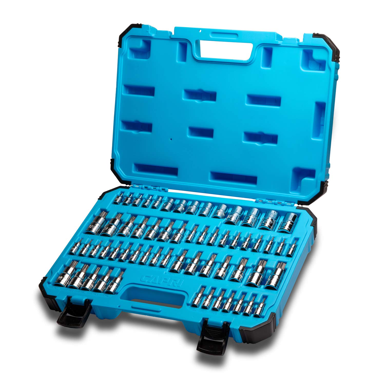 Capri Tools Master Star Bit Socket Set, Advanced Series, 60-Piece by Capri Tools
