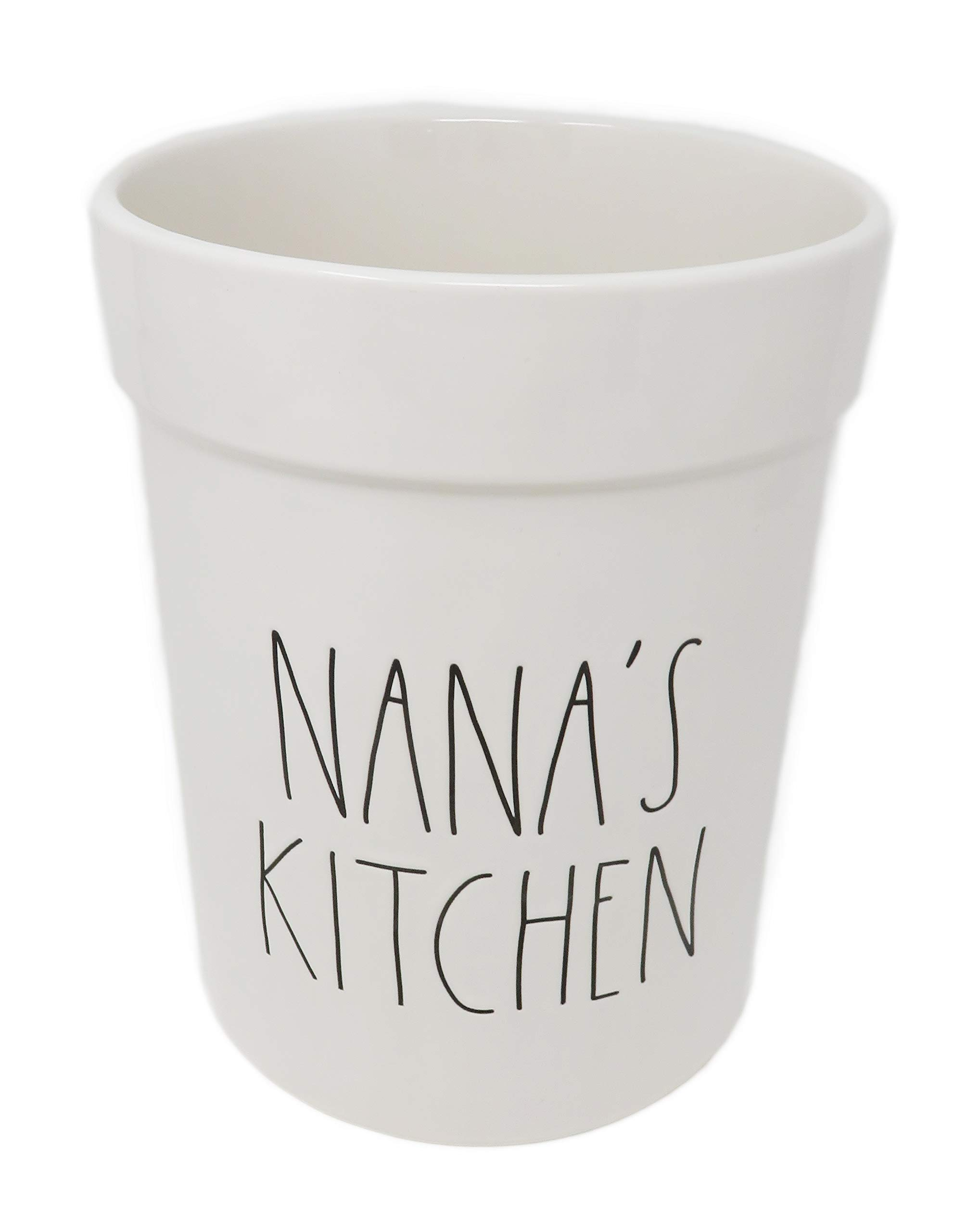 Rae Dunn By Magenta NANA'S KITCHEN Ceramic LL Utensil Holder Crock by R D