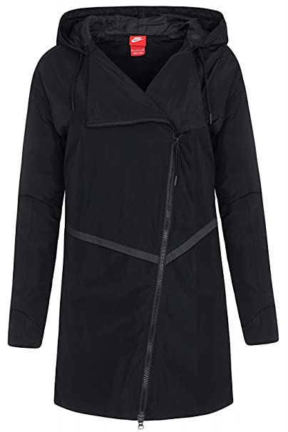 many fashionable professional website browse latest collections Nike Women's Parka Bonded Athletic Trench Jacket at Amazon ...
