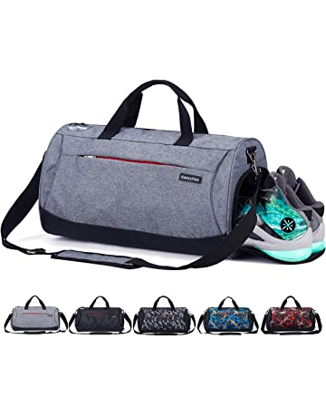 870466b93b62 CoCoMall Sports Gym Bag with Shoes Compartment and Wet Pocket