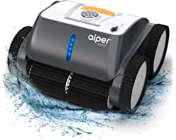 AIPER SMART Cordless Robotic Pool Cleaner, Wall-Climbing, Triple-Motor, Intelligent Route Plan Tech Automatic Pool Cleaner, M
