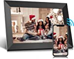 Jeemak Digital Picture Frame 10.1 inch WiFi Photo Frame with HD