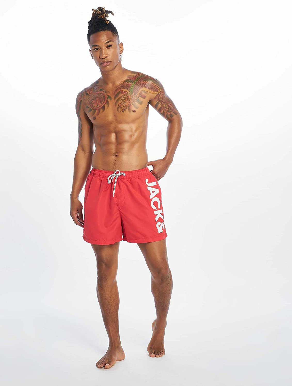 Jack /& Jones Jjicali Jjswim Shorts AKM Jones STS T-Shirt Anti-UV Homme