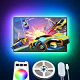 Govee Tv Led Backlights, 6.56 Feet with App Control, 16 Million Colors, and 7 Scene Modes, USB