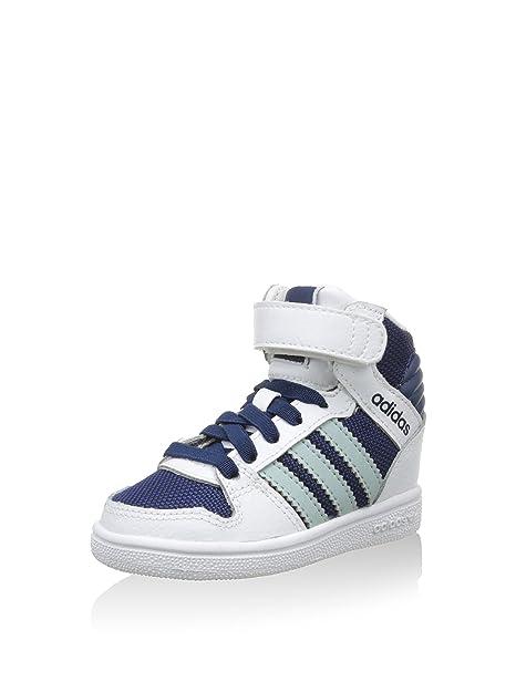 adidas Zapatillas abotinadas Pro Play Cf I Blanco/Azul EU 20 ZjrcpA65X