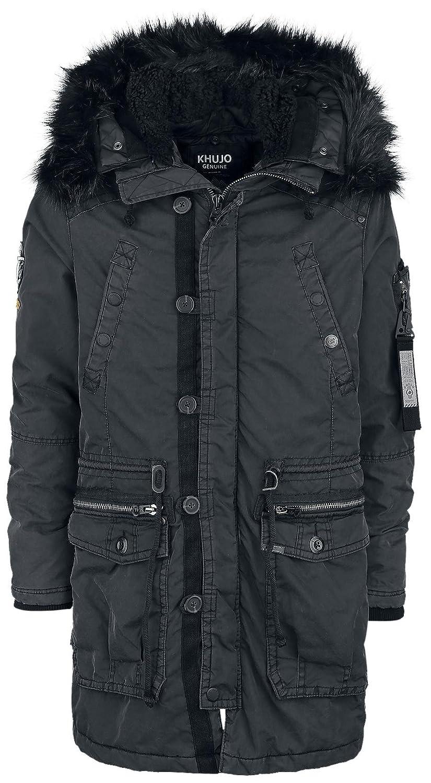 Winterjacke Wintermantel Herren , Jacke Mantel Männer ,Khujo, Größe: M