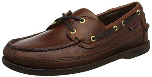 Sebago Men/'s Schooner 7000GD0-925 Brown-Gum