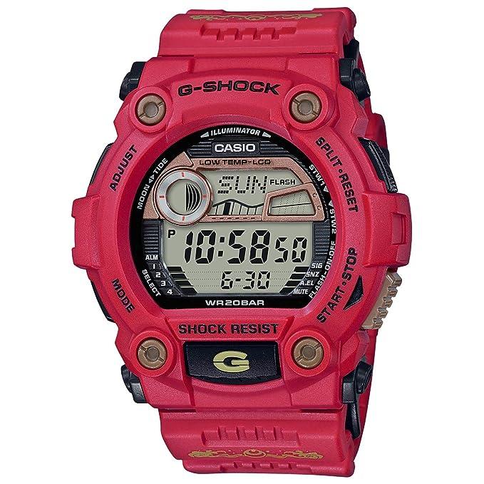 Amazon.com: G-7900SLG-4 CASIO Watch G-Shock SHICHI-FUKU-JIN ...