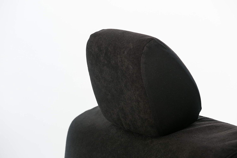 Saddleman S 219923-19 Black Custom Made Rear 60//40 Backrest with 3 Adj Headrests Seat Covers
